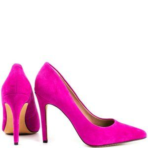Vince Camuto Suede Hot Pink Pump.New!
